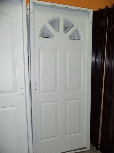 puerta chapa con