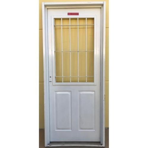 puerta chapa inyectada marco ancho postigo abrir 80x200