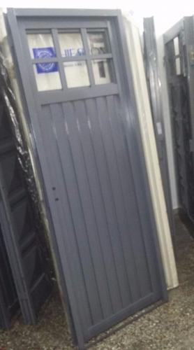 puerta chapa simple 70x200cm