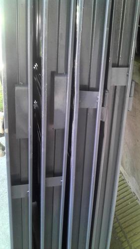 puerta chapa simple dos tableros monte grande/longchamps
