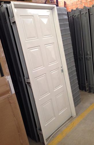 puerta  chapa simple reforzada  80x200 ciega