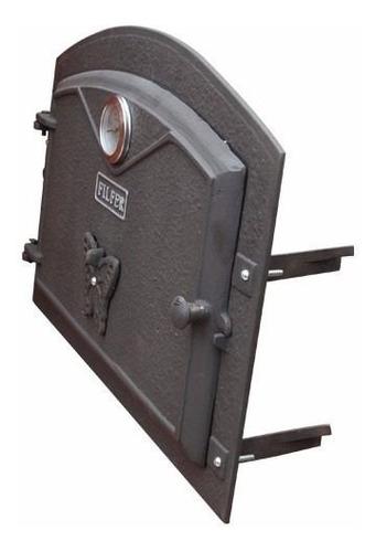 puerta chica para horno de barro fil fer fundición de hierro