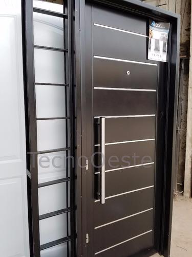 puerta con portada lateral chapa inyectada atex + cuotas!!