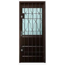 Puerta Con Puerta Reja Incluida En Mismo Marco