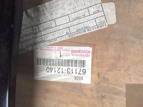 puerta corolla derecha izquierda original(160trmp)