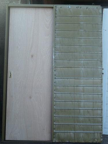 puerta corrediza cedro de 60 o 70 x 200