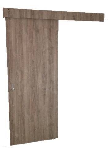 puerta corrediza con guía colgante  fácil instalación
