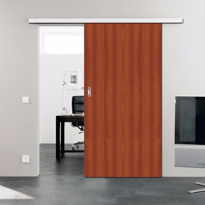 puerta corredera guia exterior fabulous gua para puertas