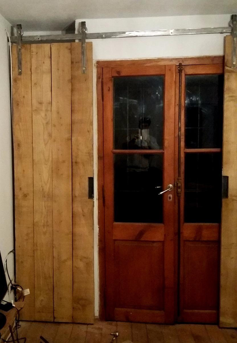Puerta Corrediza Granero Galponera Rustica - $ 6.490,00 en Mercado Libre