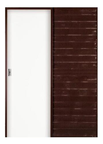 puerta corrediza madera oblak practika 70x15 marco chapa