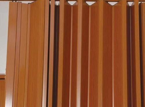 Puerta corrediza plegable bisagra panel doble de pvc ba o bs en mercado libre - Puerta plegable bano ...