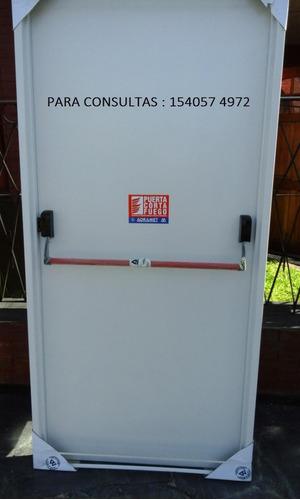 puerta cortafuego completa con certificado y entrega rápida!