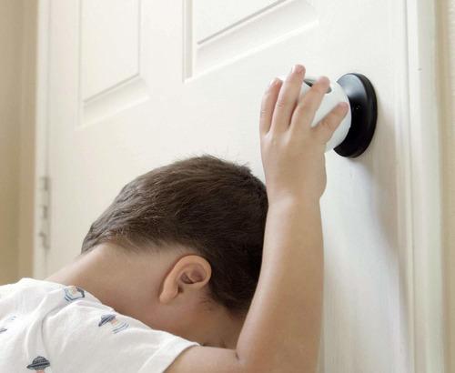 puerta cubierta de seguridad perilla - 4 pack - child and ba