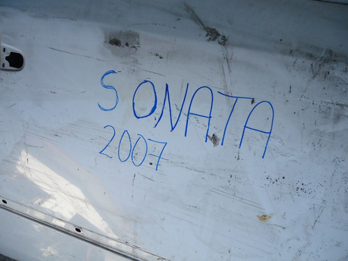 puerta dd sonata 2007 - abollada - lea descripción