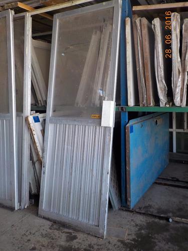 Puerta de aluminio 1 en mercado libre for Zapatera de aluminio