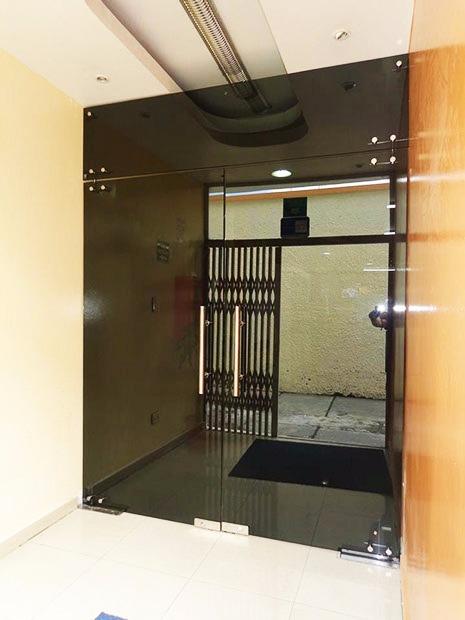 Puerta de cristal templado en mercado libre for Puertas de cristal templado