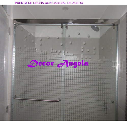 puerta de ducha en acrìlico , puerta de ducha en vidrio 350