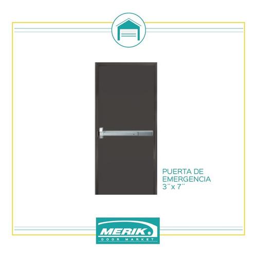 puerta de emergencia merik