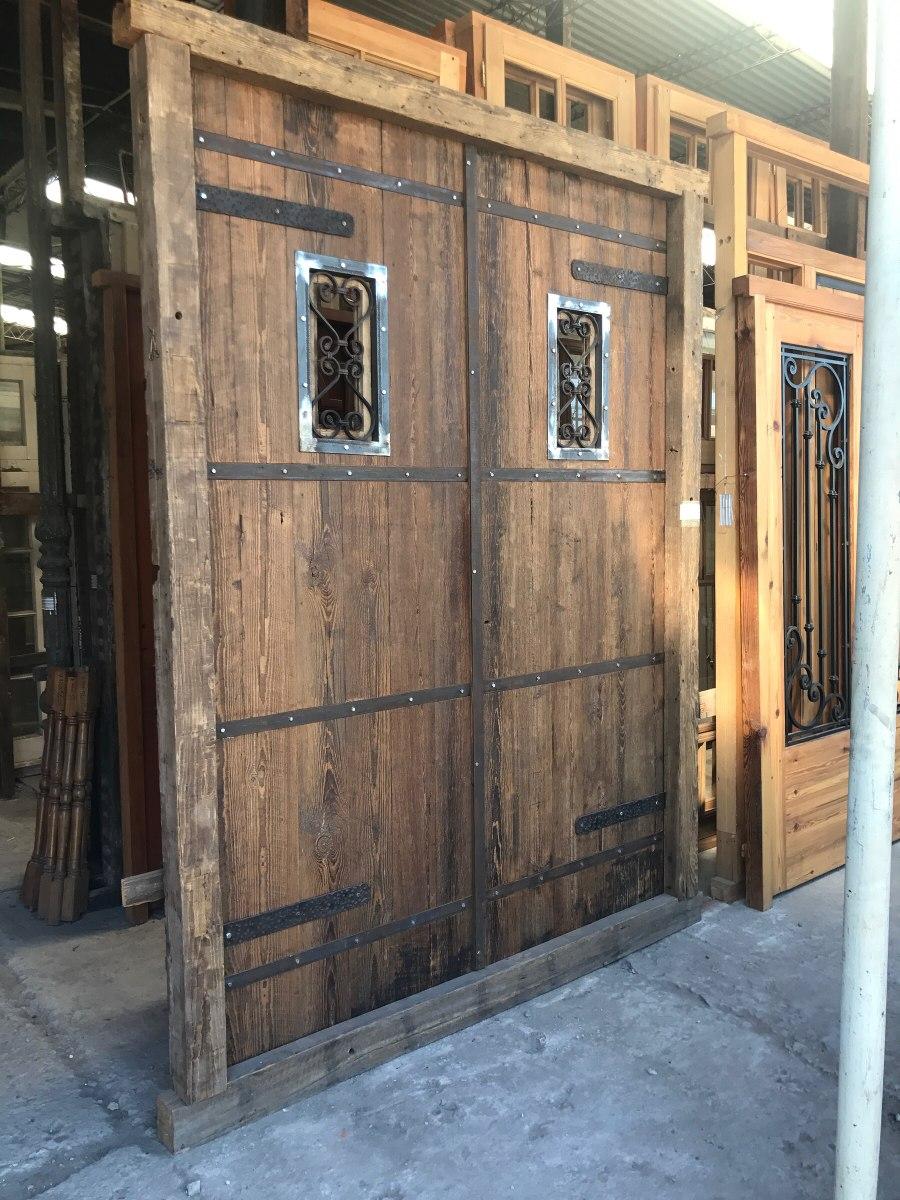 Puertas Rusticas De Exterior Aluminio Free Puertas De Madera  ~ Puertas De Entrada De Aluminio Rusticas