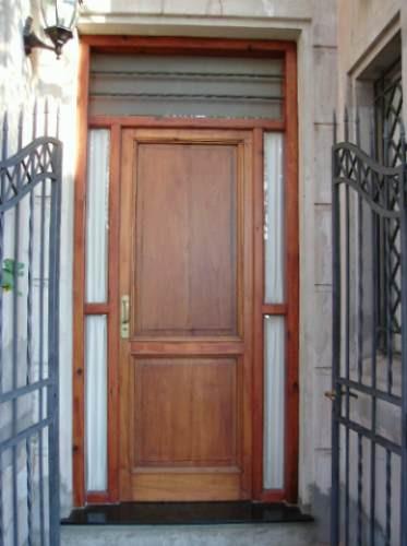puerta de frente de cedro antigua!