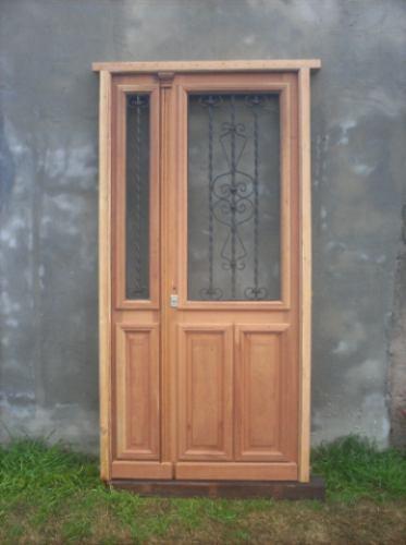 puerta de frente..doble hoja