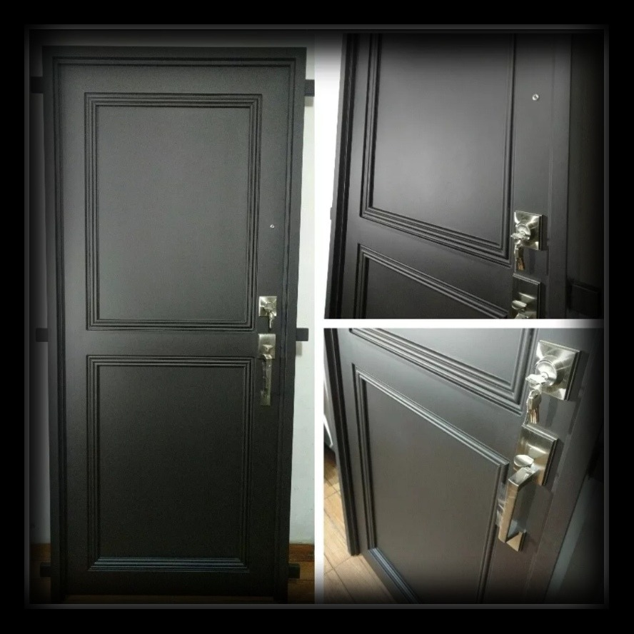 Puerta de herrer a forja molduras 6 en mercado libre - Molduras para puertas ...