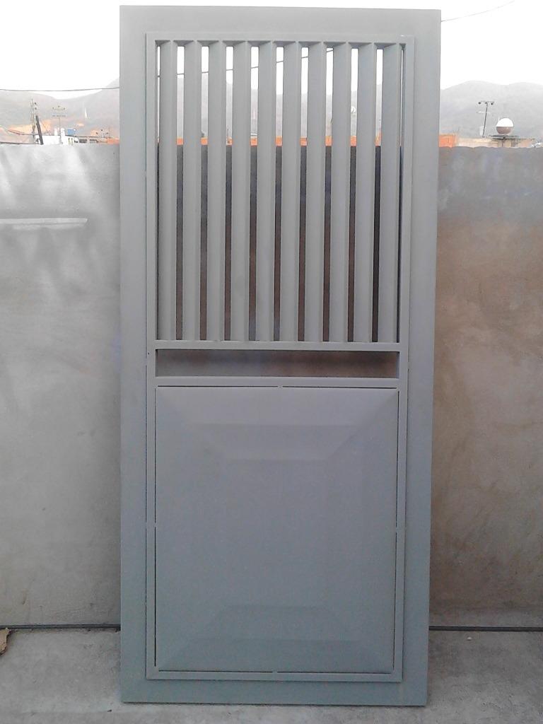 Puerta de hierro 0 90x2 mts bs 0 07 en mercado libre - Puertas de hierro ...