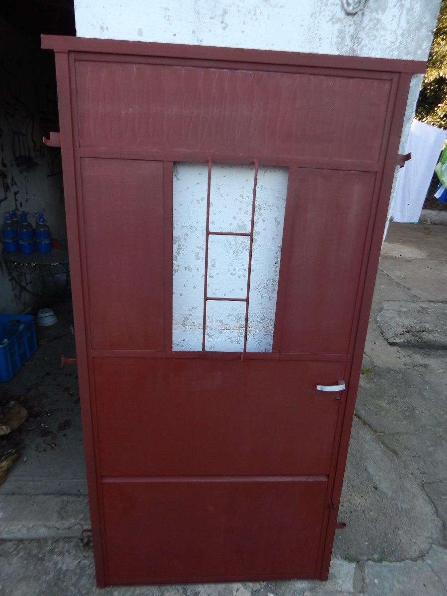 Puerta de hierro y chapa en mercado libre - Puertas de chapa ...