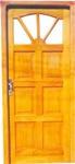 puerta de madera 80 x 200 postigo
