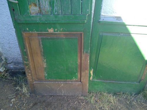 puerta de madera exterior  1.40 x 2.20