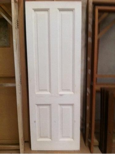 puerta de madera maciza para interior sin marco