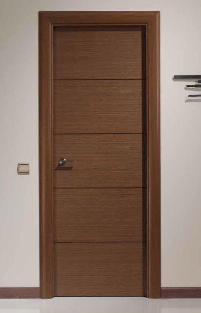 Puerta de madera minimalista sobre dise o 4 en for Puertas de madera interiores minimalistas