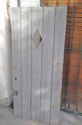 puerta de madera rustica estilo vintage