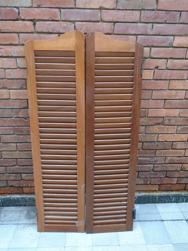 puerta de madera tipo tejano 1.47 mts x 76