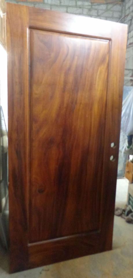 Puerta de parota solida madera exotica tallada a mano oferta 10 en mercado libre - Puertas de cochera segunda mano ...