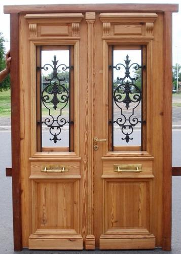 puerta de pinotea antigua 2 pulgadas. a medida!!!