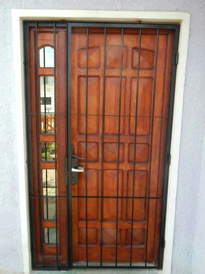Puerta de reja en mercado libre for Puertas de reja