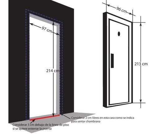 puerta de seguridad acero modelo hannover