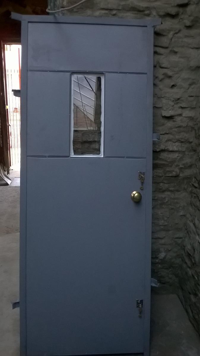 Puerta de seguridad doble chapa exelente calida 13000 - Puerta de chapa ...