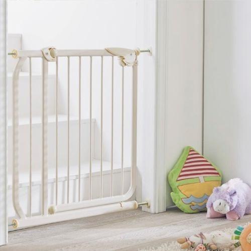 Puerta de seguridad metalica escalera pasillos bebe - Seguro para puertas bebe ...