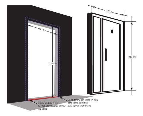 puerta de seguridad modelo hamburgo con fijo
