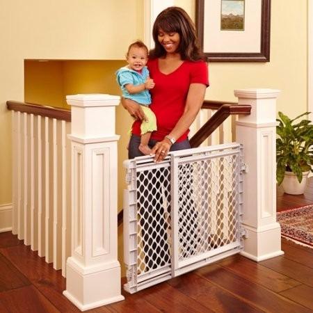 puerta de seguridad para bebes/niños gradas