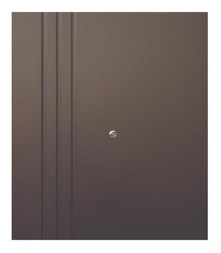 puerta de seguridad xe 3l doble aper der acero 100% ch
