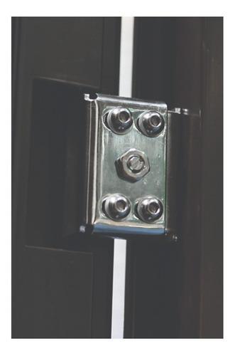 puerta de seguridad xe 3l plus c/fijo aper der acero 100% ch
