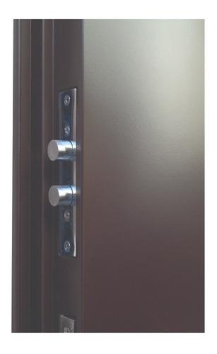 puerta de seguridad xe luxury s1 chocolate apertura der