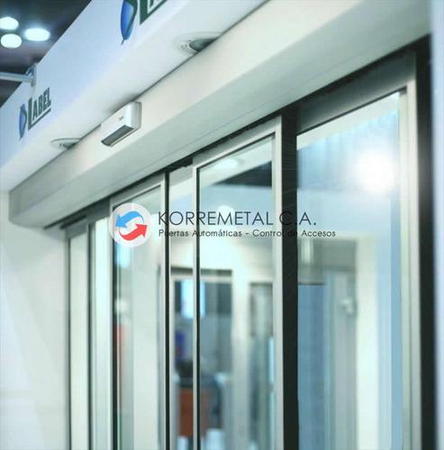 puerta de vidrio automáticas negocios y locales comerciales