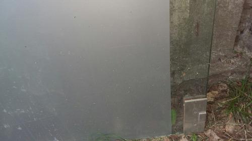 puerta de vidrio templado