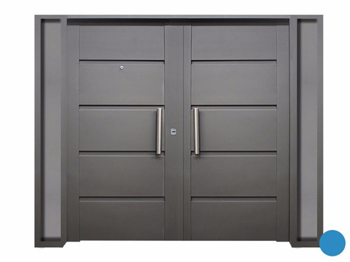puerta doble chapa de abrir exterior de 160 cm construccion