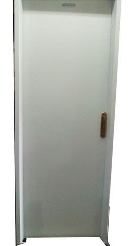 puerta doble chapa inyectada 18mm 85x203