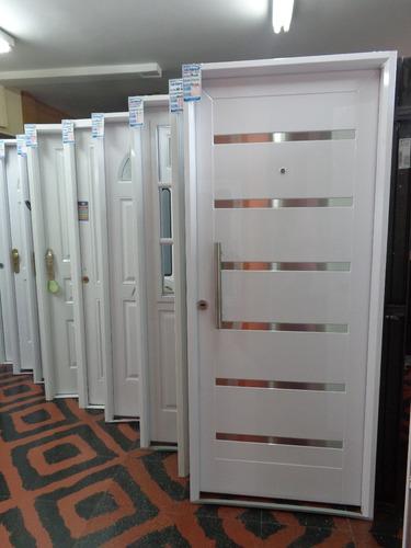 puerta doble chapa inyectada pavir verona - 3defebrero ruta8